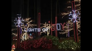 Video: Free Christmas display with 350,000 lights in metro Atlanta