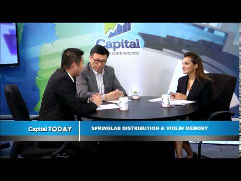 Capital TV : Springlab Distribution as the exclusive distributor of Violin Memory