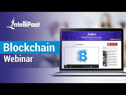 Expert Webinar on Ethereum and Working with Smart Contracts in Blockchain | Intellipaat