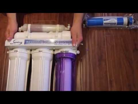 BEST RO Drinking Water System for your home or apartment! Reverse Osmosis