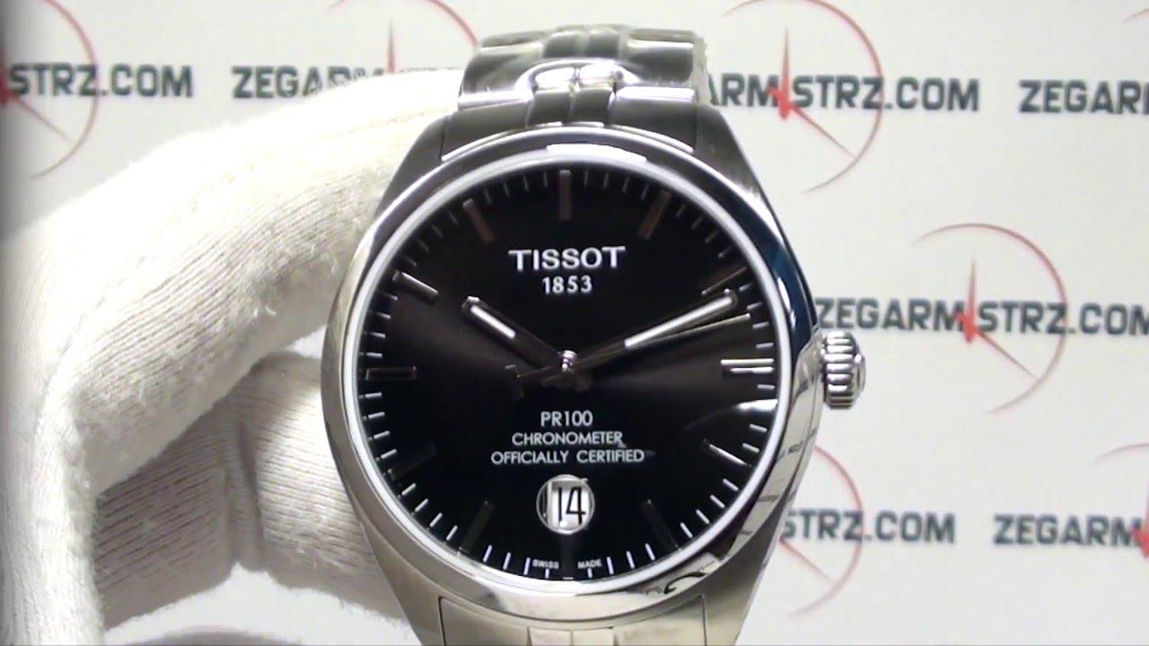 Tissot Pr100 Chronometr Cosc T101 408 11 051 00 Www Zegarmistrz Com