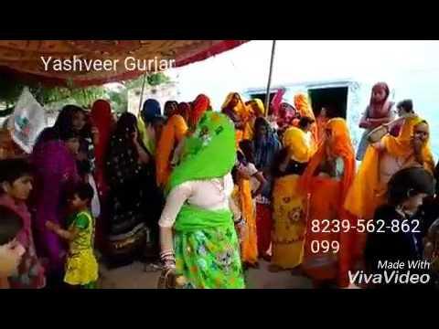 Gurjar Rasiya Lady Dance 2018