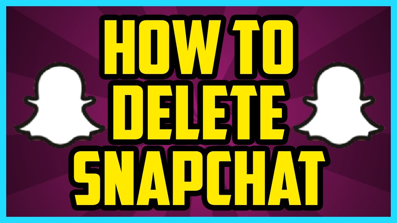 How To Delete Your Snapchat Account 2017 Ios (fast) How To Permanently Delete  Snapchat Account