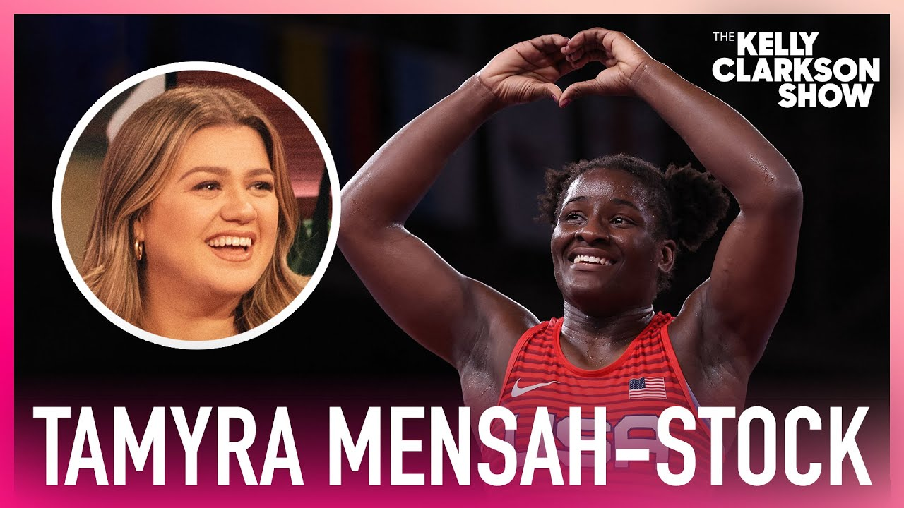 Olympic Gold Medalist Tamyra Mensah-Stock Sings Kelly Clarkson Karaoke Before Competitions