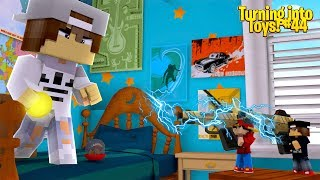 Minecraft Toys #44 - TOY ROPO & JACK ELECTROBCUTE THE NICE KID!!