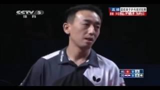 乒乓球亚欧男子乒乓球对抗赛 唐鹏VS谭瑞午1