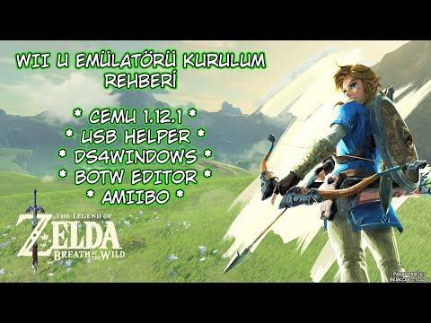 [Türkçe] Cemu 1.12.1 Kurulum Rehberi | The Legend of Zelda Breath of the Wild | Wii U Emülatörü