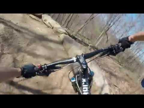 Cherokee Park Mountain Bike Ride in Louisville, KY