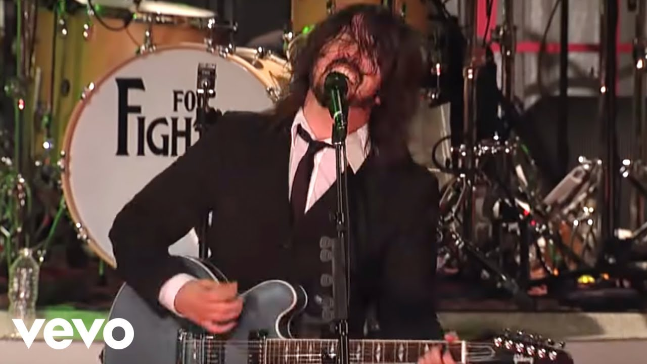 Foo Fighters - This Is A Call (Live on Letterman)