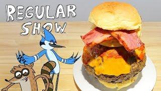 RICO の #アニメ料理実写化 主にアニメの料理、食べものなどを 出来るだけ三次元に実現する 番組です 今日作るのは # レギュラーSHOW〜 の ...