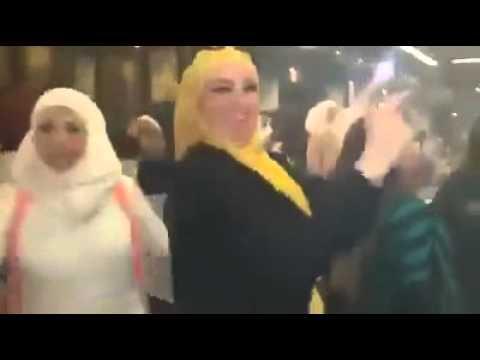 Aleppo women celebrate Syrian elections