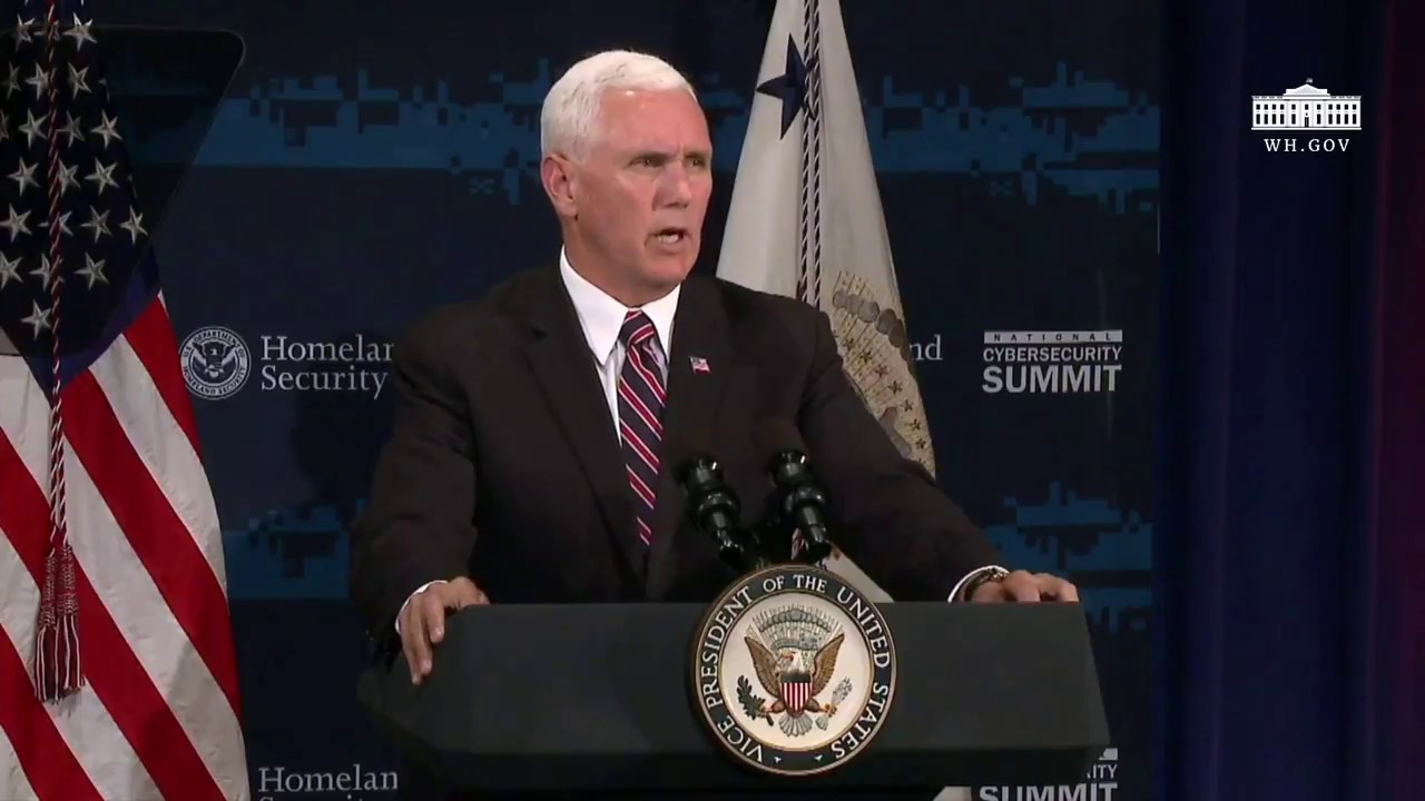 vice-president-pence-delivers-remarks-at-the-dhs-national-cybersecurity-summit