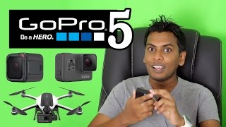 සිංහල Geek News - Introducing GoPro HERO 5 Black , Session & GoPro Karma Drone in SInhala Sri Lanka