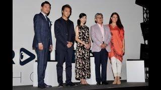 TAKAHIRO、黒木瞳らがショートフィルムを語る 映画では「雄のフェロモン...