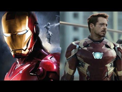 Все трансформации Железного человека (2008-2016)