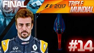 ¡CAMPEONATO EN JUEGO Y EN DIRECTO! - F1 2017 TRIPLE MUNDIAL #14 (Brasil)