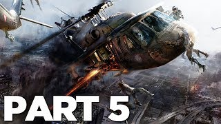 WORLD WAR Z Walkthrough Gameplay Part 5 - EVACUATION (WWZ Game)
