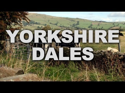 Yorkshire Dales, a Beautiful Upland Area of Northern England