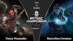 Round 7 (Modern): Yuuya Watanabe vs. Marcelino Freeman - 2019 Mythic Championship II