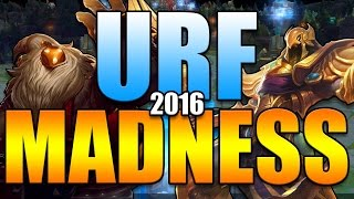 URF 2016 AZIR & BARD | URF MADNESS MASHUP - League of Legends