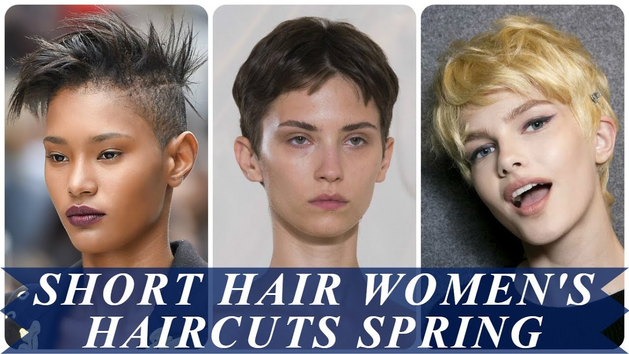 20 Best Ideas For Short Hair Womens Haircuts Spring 2018 Youtube