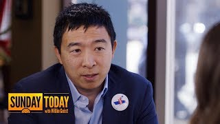 Presidential Candidate Andrew Yang's Plan For Universal Basic Income | Sunday TODAY