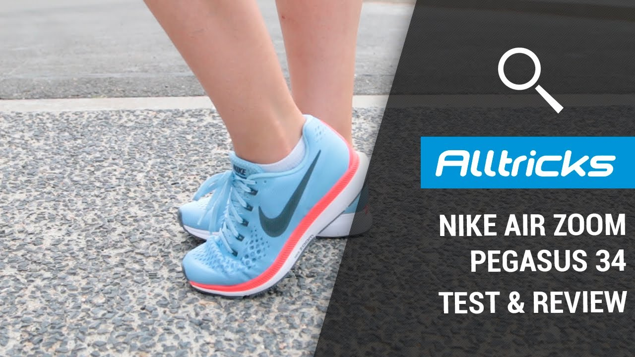 0e40290e7bd Nike Air Zoom Pegasus 34   Test   Review - YouTube