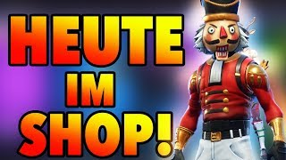 Nutcracker! Christmas Skin today at Fortnite Daily Shop German 20.12