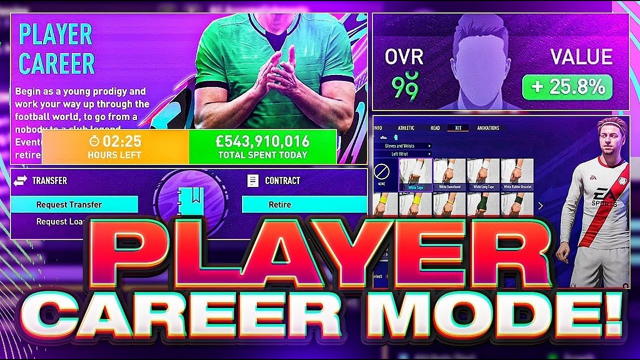 FIFA 21 Player Career Mode Official Gameplay!