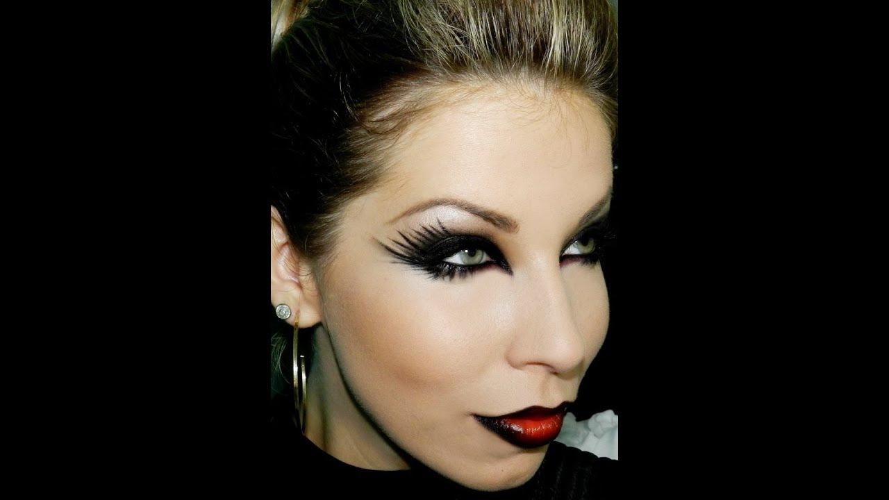 Excepcional Maquiagem para Halloween, com Lu Ferraes - YouTube RS03