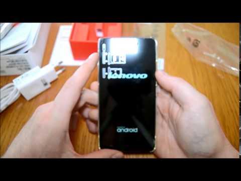 Lenovo S60 - unboxing