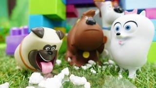 Lustiger Kinderfilm - Der Winter steht vor der Tür - Die Hunde bauen ein neues Haus