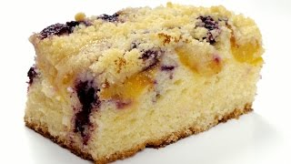 Простой ягодный пирог. Пошаговый рецепт вкусной домашней выпечки.
