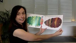 The Wonder Tree: 'The Very Hungry Caterpillar' yoga stretchy story