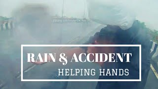 HEAVY RAIN & ACCIDENTS | ROAD ACCIDENT #NOIDA #NCR #DEATH #ACCIDENT