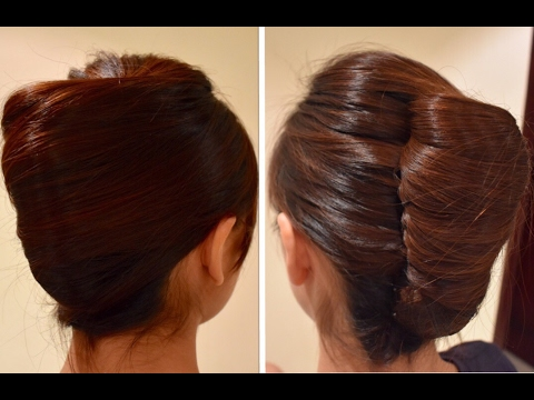 Easy French Twist For Long Hair Youtube