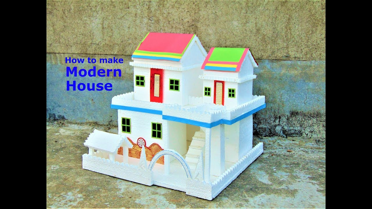 how to build a model house