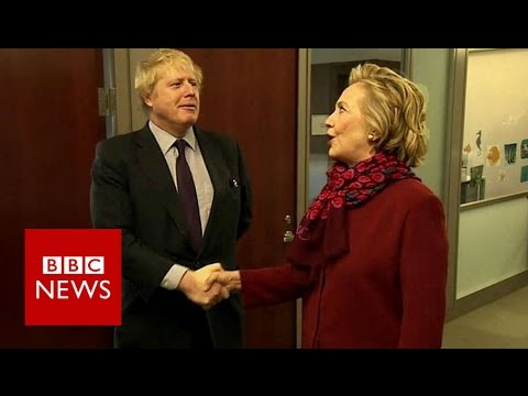 Gaffes and glory: Boris Johnson abroad - BBC News