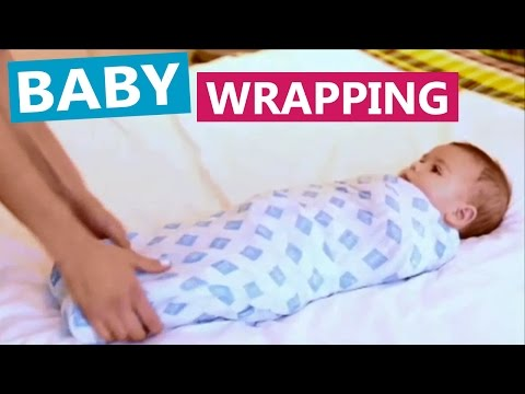 How to Wrap a Baby | Three ways of Wrapping / Swaddling