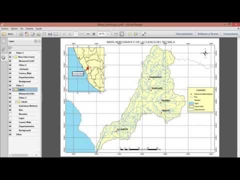 Exportar Mapas De Formato ArcGIS A PDF O FOTO - Pasar De ArcGIS A PDF O FOTO