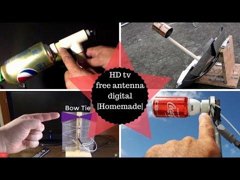 HD tv free antenna digital |Homemade Trailer|