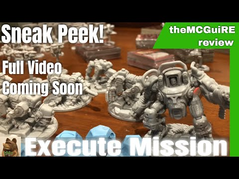 WOLFENSTEIN Board Game Unboxing Preview