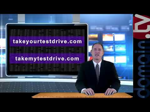 TakeYourTestDrive.com + TakeMyTestDrive.com for sale   Domain Television