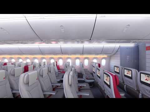 The Royal Jordanian 787 Dreamliner