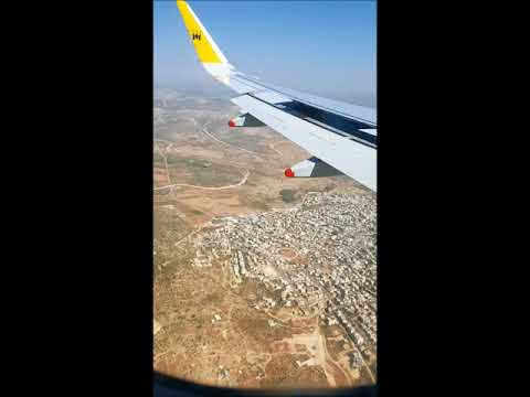 Landing at David Ben Gurion Intl, Tel Aviv