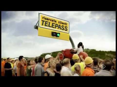 autostrade per l'italia spot 2012 pubblicità 1