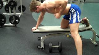 How To: Dumbbell Bent-Over Row (Single-Arm)