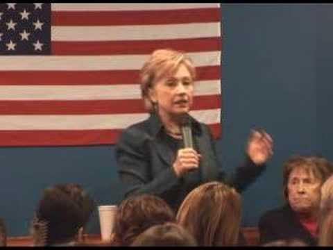 Sen. Hillary Clinton on No Child Left Behind