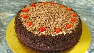 Шоколадный торт Чёрный принц Очень вкусный простой и бюджетный