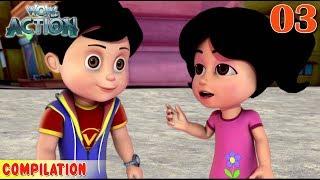 Vir : The Robot Boy | Vir Action Collection - 3 | Action series | WowKidz Action